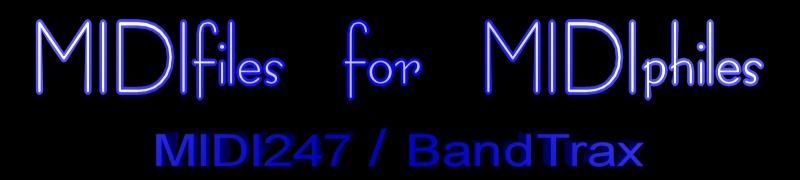 BandTrax Australia at MIDI247 - MIDIfiles for MIDiphiles